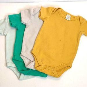 Bundle Lot of 4 Infant Onesies